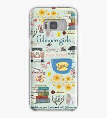 Gilmore Girls Collage, mint green Samsung Galaxy Case/Skin