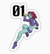 Space Cadette 01 Sticker