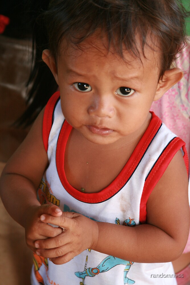 Khmer Boy by randomness