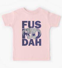 fus ro dah Kids Tee