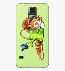 Pretty Stealthy | Maine Coon Orange Tabby Case/Skin for Samsung Galaxy