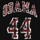 Obama 44th President t shirt by barackobama