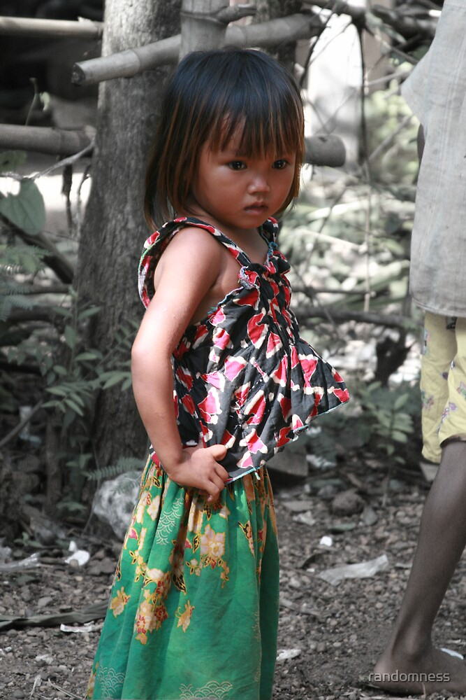 Khmer Girl by randomness