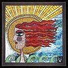 Onshore Annie Mosaic  by Anne Marie  Price