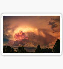 July Fourth Storm {3877} Sticker
