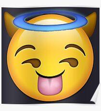 Baddie Emoji Poster