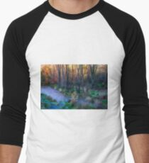 River Devon in Clackmannan Men's Baseball ¾ T-Shirt