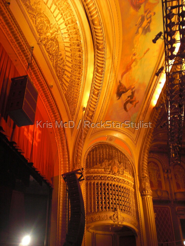 The Warfield~San Francisco by Kris McD / RockStarStylist
