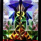 Butterfly Stained Glass! by Lesley  Hill