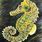 SeaHorse or SeaDragon by WhiteDove Studio kj gordon