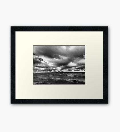 Stormy Monday Framed Print