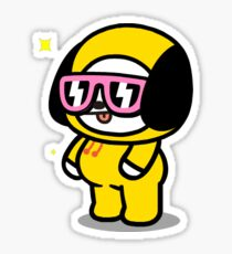 Pegatina bt21 chimmy