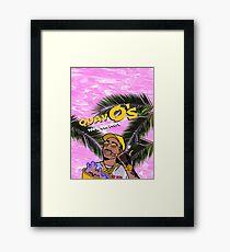 Quavo's Cereal (PINK) Framed Print