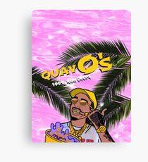 Quavo's Cereal (PINK) Canvas Print
