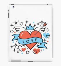 Cartoon Love iPad Case/Skin
