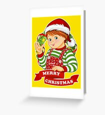Child's Play - Merry Christmas - Chucky Greeting Card