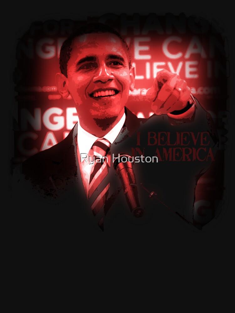Barack Obama I Believe in America by photoforyou