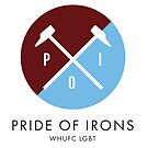Pride Of Irons Logo by PrideOfIrons