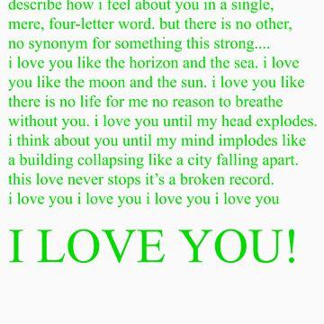 i love you by dijitaliaco