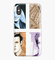 Time Travellers Nine to Twelve! iPhone Case/Skin