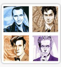 Time Travellers Nine to Twelve! Sticker