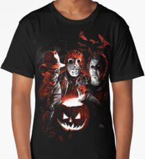 Super Villains Halloween Long T-Shirt