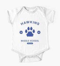 "Stranger Things® - ""Hawkins Middle School"" Original (Blue) Kids Clothes"