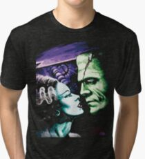 Bride & Frankie Monsters in Love Tri-blend T-Shirt