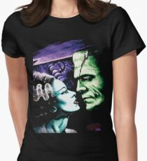 Bride & Frankie Monsters in Love Women's Fitted T-Shirt