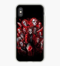 Jason Voorhees (Many faces of) iPhone Case