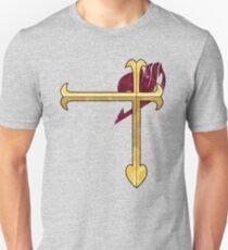 Heart Kreuz  Unisex T-Shirt