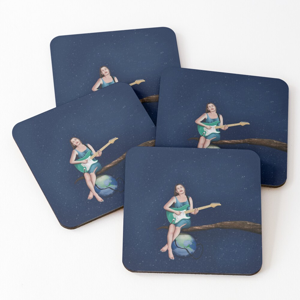 Plugged In Coasters (Set of 4)