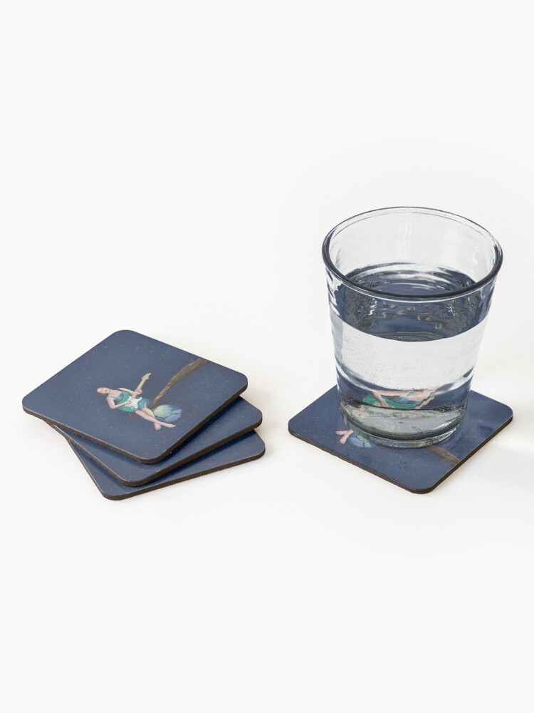 Alternate view of Plugged In Coasters (Set of 4)