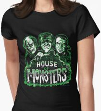 House of Monsters Women's Fitted T-Shirt