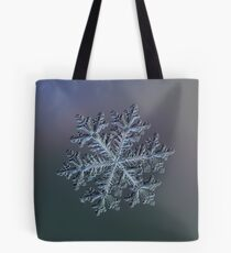 Real snowflake - Hyperion dark Tote Bag