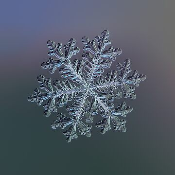Real snowflake - Hyperion dark by chaoticmind75