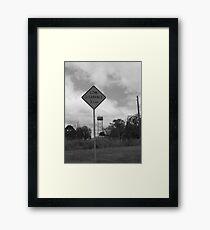 Goulburn Framed Print