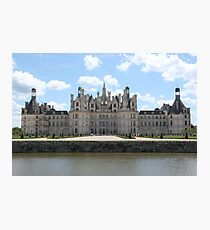 Chateau de Chambord 1 Photographic Print