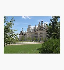 Chateau de Chambord 2 Photographic Print