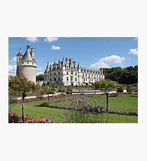 Chateau de Chenonceau Garden of Catherine de Medicis Photographic Print