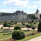 Chateau de Chenonceau Garden of Diane de Poitiers by Elena Skvortsova