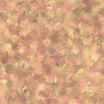 Fall browns impression art by SundayMornArt