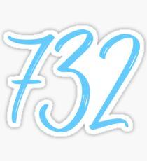 732 Sticker Sticker