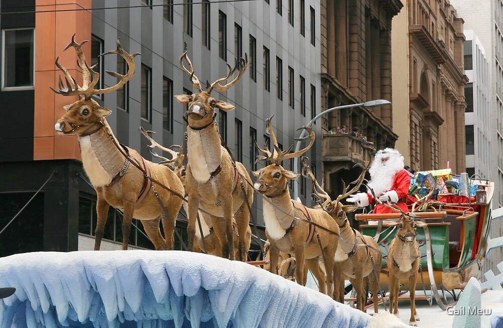 """Santa has Arrived at Last!"" by Gail Mew"
