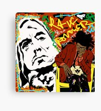 Iggy and Basquiat Canvas Print