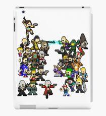 Epic 8 bit Battle! iPad Case/Skin