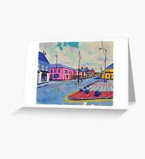 Longford Town, Ireland Greeting Card