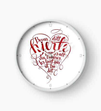 Bevar ditt hjerte Clock