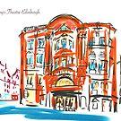 King's Theatre Edinburgh by Helen Imogen Field