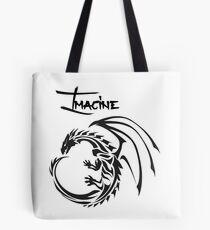 Imagine the Dragons Tote Bag